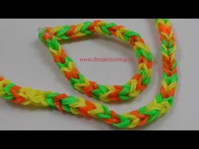 Loom Bands - ohne Rainbow Loom - Deutsch - A