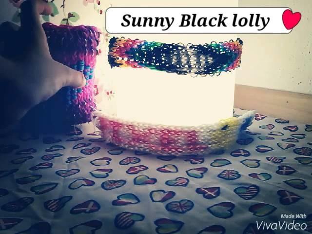 Rainbow loom Lampe verzieren ♥♥♥