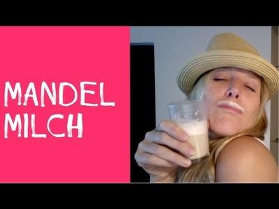 Rohkost Rezept: Rohtopia Schnellstes Mandelmilch-Rezept der Welt - fastest almond milk ever