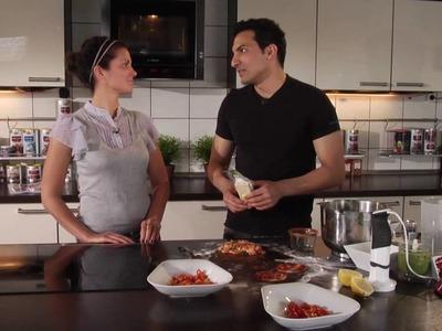 Alles vegan: Pizza - Kochshow mit Kerstin Linnartz