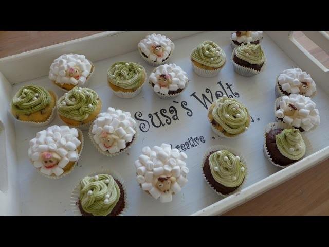Cupcake Marshmallow Schafe