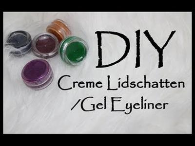 DIY Creme Lidschatten.Gel Eyeliner |Beautyreihe 2#