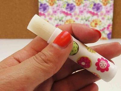 DIY Lippenbalsam mit Vanille selber machen | leichtes Peeling | ohne Vaseline
