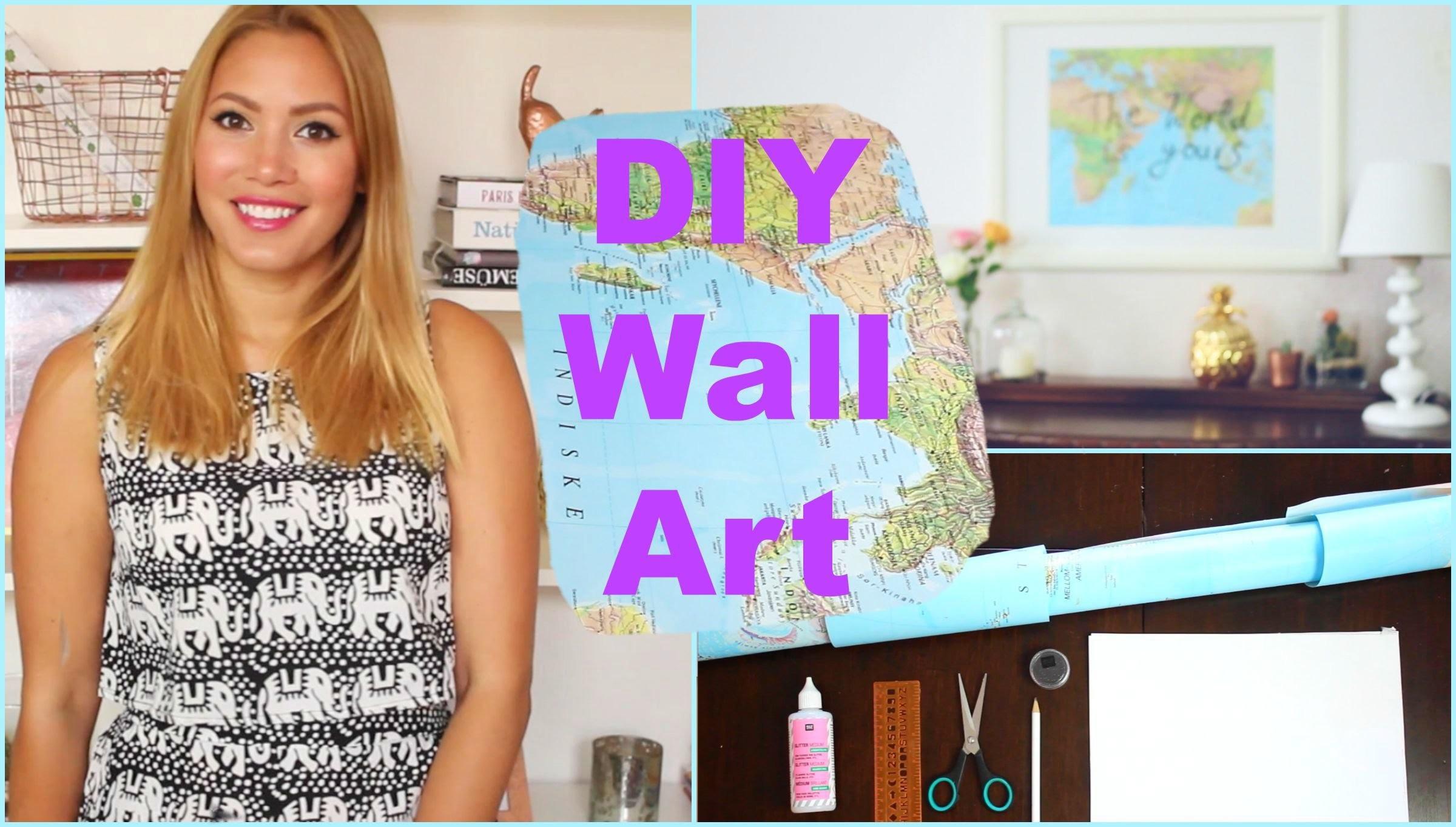 DIY Wall Art - motivational quote art | funnypilgrim