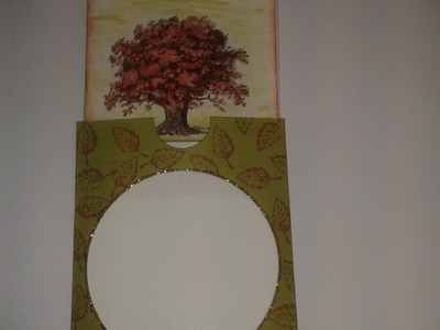 Autumn Card - Magic Slider Card