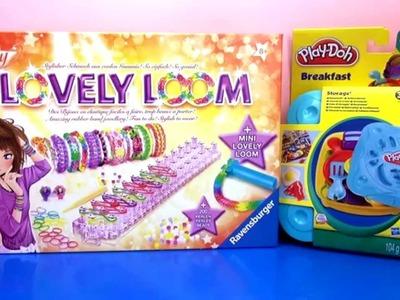 Der Gewinner steht fest! Play Doh Breakfast Set.Lovely Loom geht an .