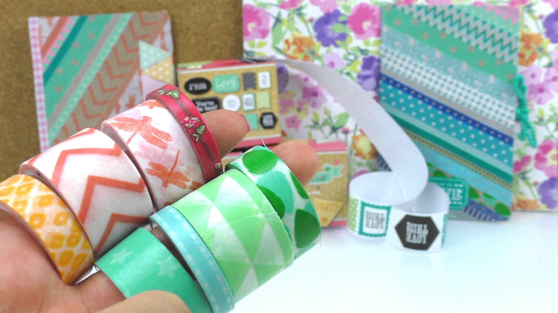 DIY Inspiration Haul - neues Washi Tape, Sticker und DIY Notizbücher. Kathi war einkaufen