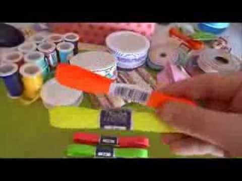 DIY Miniatur-Schleifen binden + mein Schleifenband-Sortiment