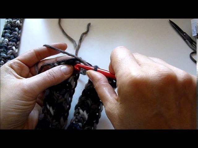 Ganz einfach ein geflochtenes Stirnband häkeln - crocket Headband