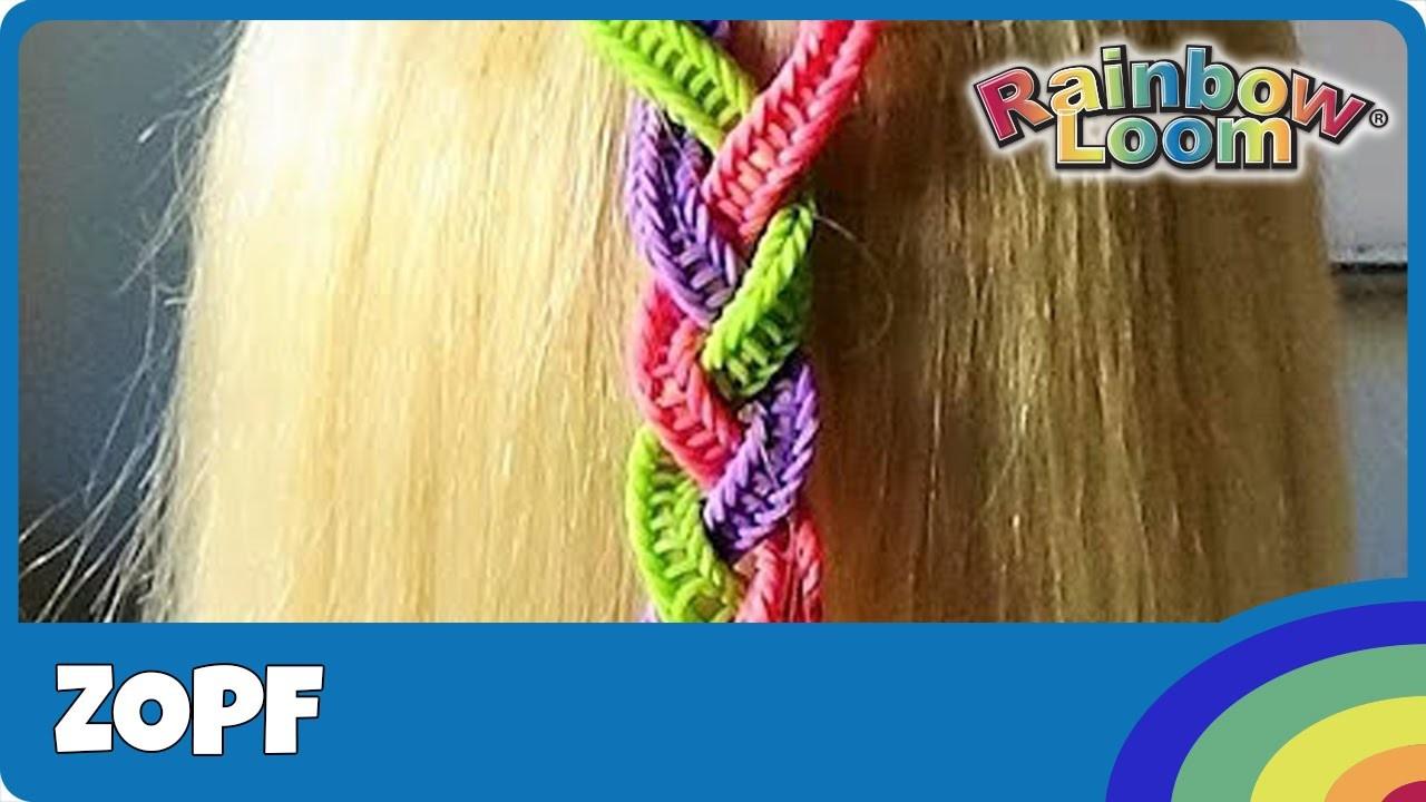 HairLoom Zopf - deutsche Anleitung von Rainbow Loom