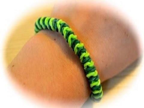 Rainbow Loom Raupen Armband deutsche Anleitung