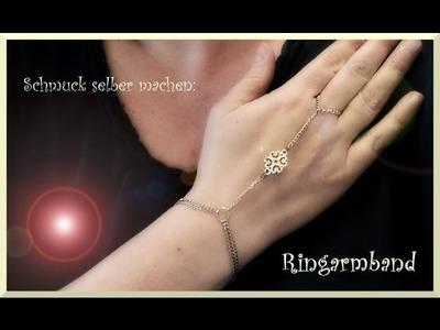 Schmuck selber machen: RING & ARMBAND