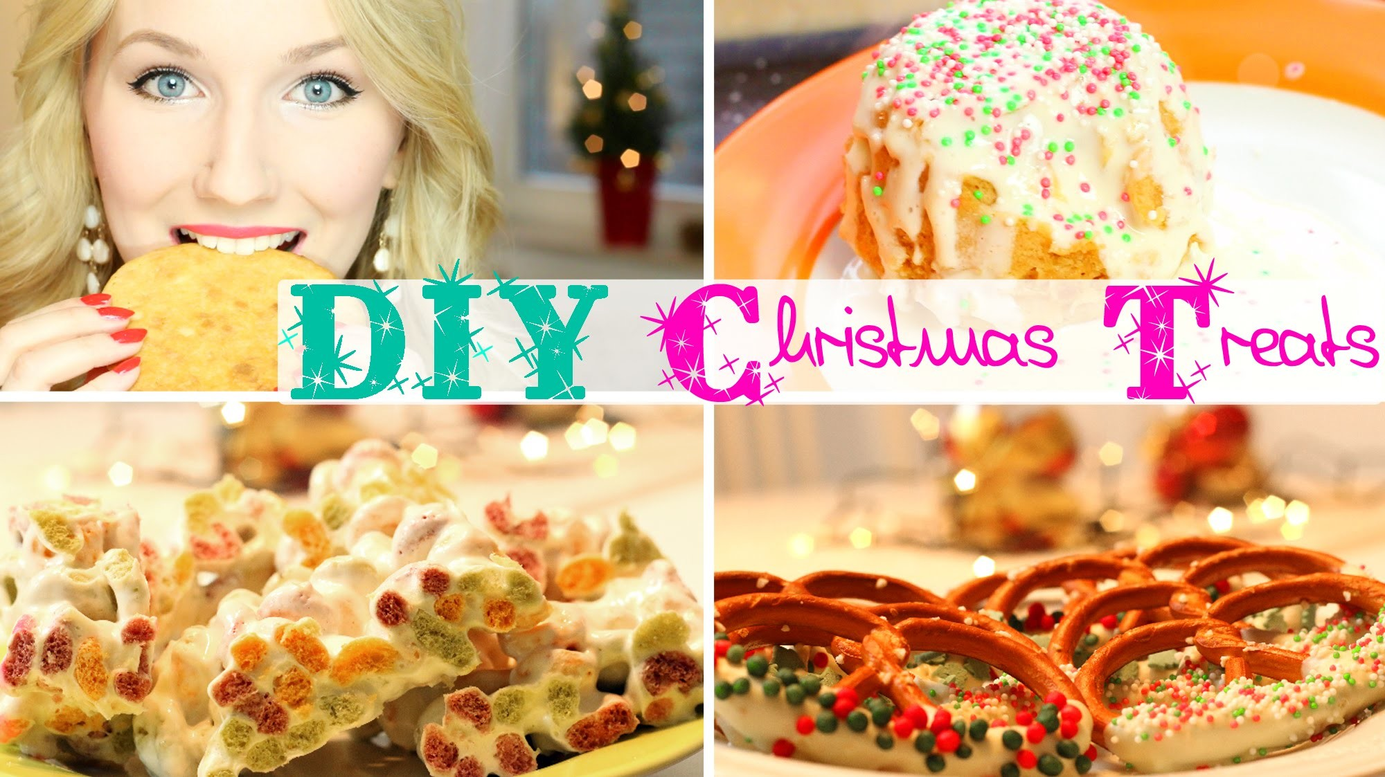 4 SCHNELLE & Leckere Rezepte für Weihnachten - DIY Christmas Treats