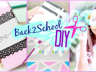 5 Back to School DIYs I Ordnen, Notieren & co I #B2SConSofia