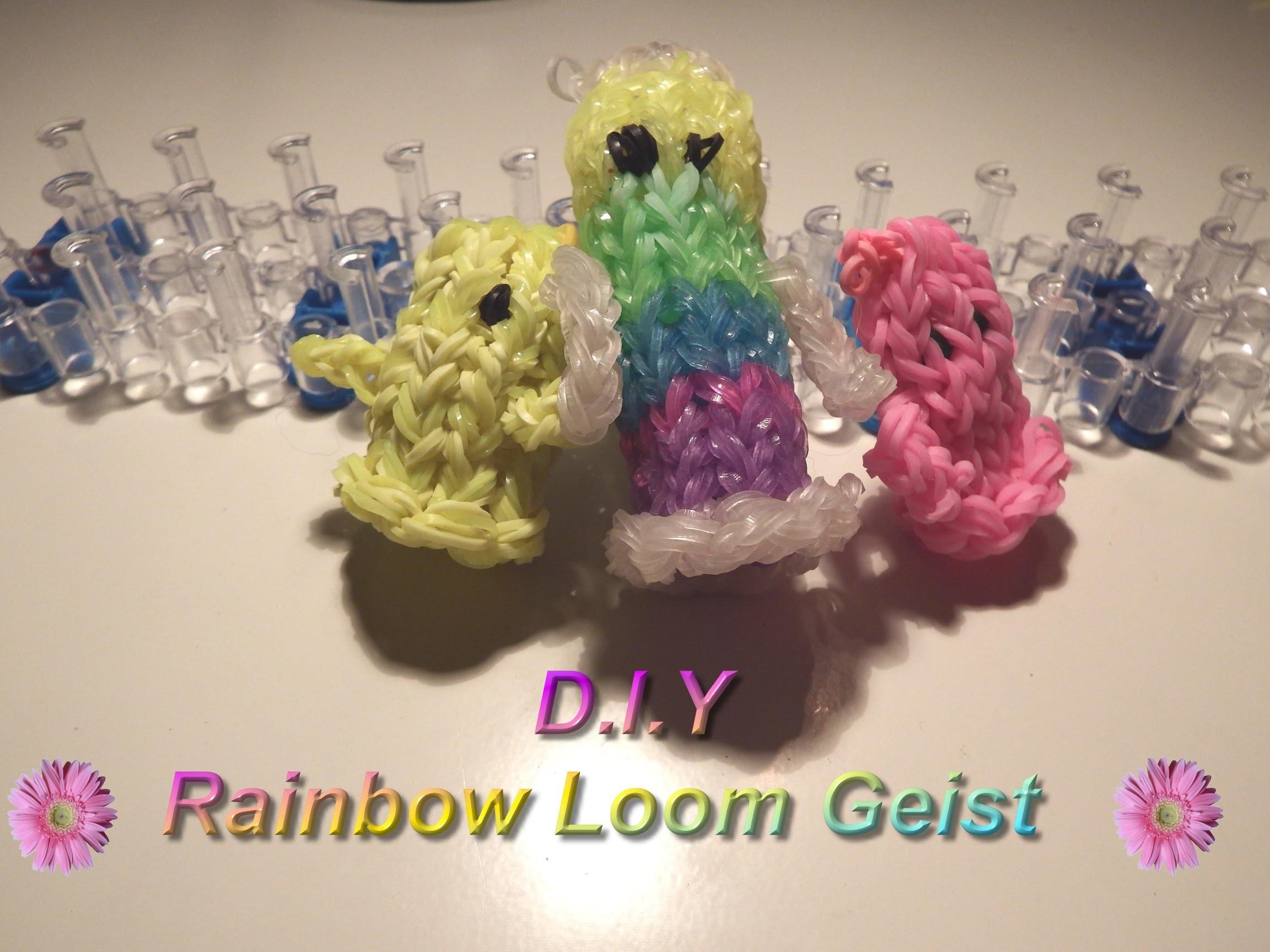 *** D.I.Y. Rainbow Loom Bands - 3D Geist -mit Tini ***