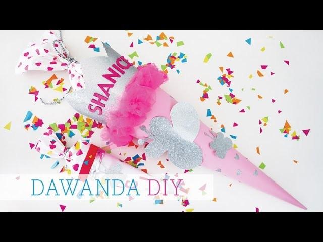DaWanda DIY: Schultüte von Luloveshandmade x Jess on Tour