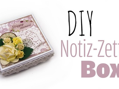 [DIY] Box für Notiz-Zettel