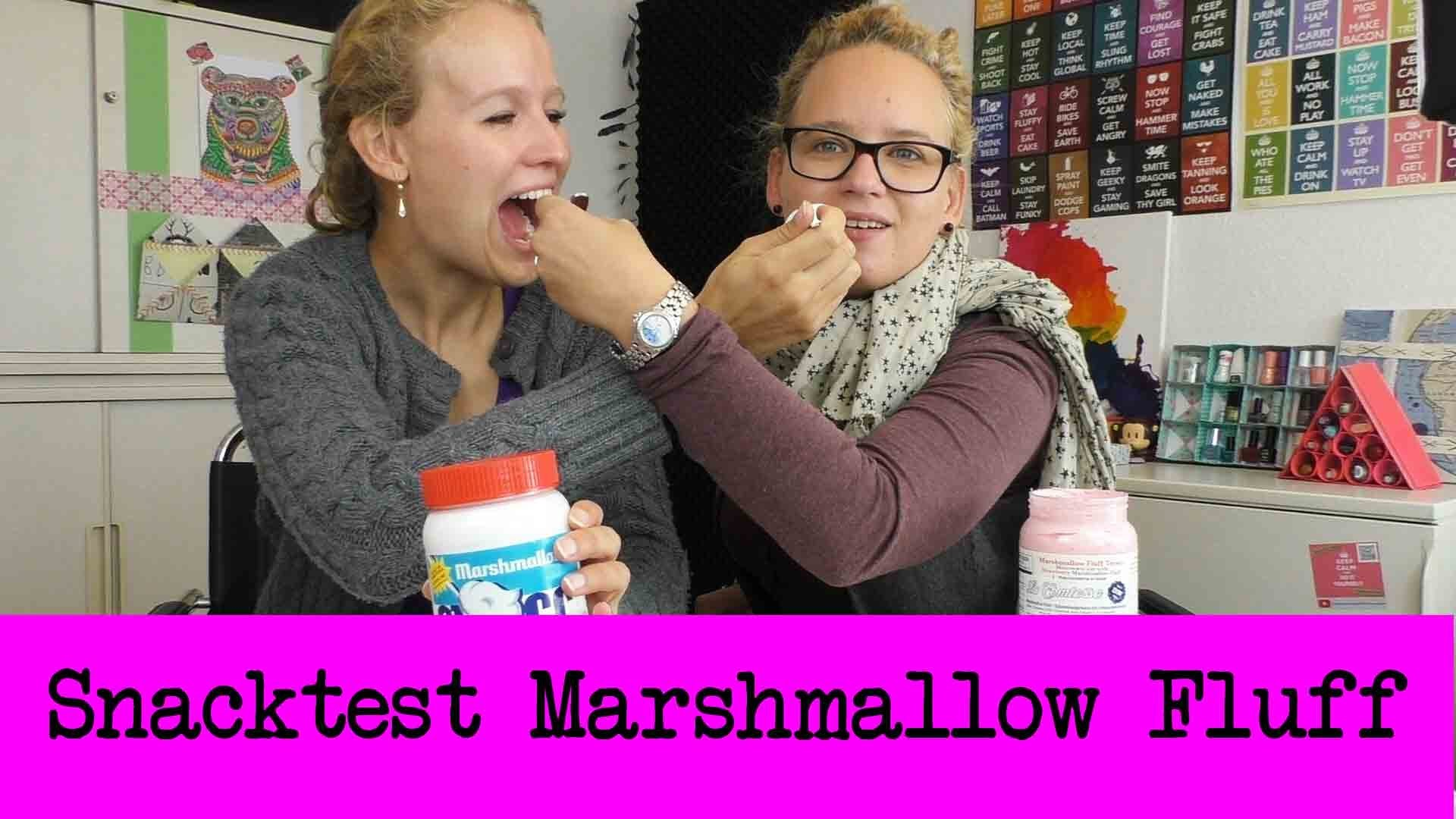 DIY Inspiration Snacktest:  Marshmallow Fluff | Brotaufstrich aus den USA | Ist das Lecker?!