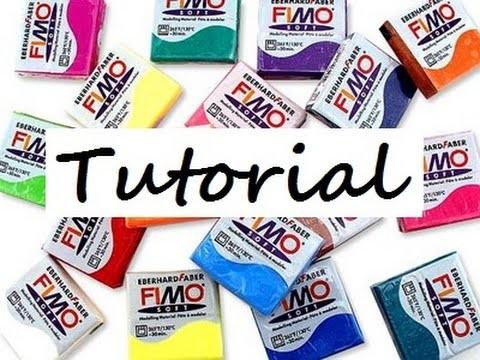 [ FIMO Tutorial ]  Filofax Anhänger Polymer Clay , Anleitung DEUTSCH