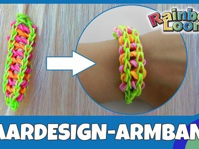 HairLoom Tipp 1: Armband aus dem Haardesign machen - deutsche Anleitung von Rainbow Loom
