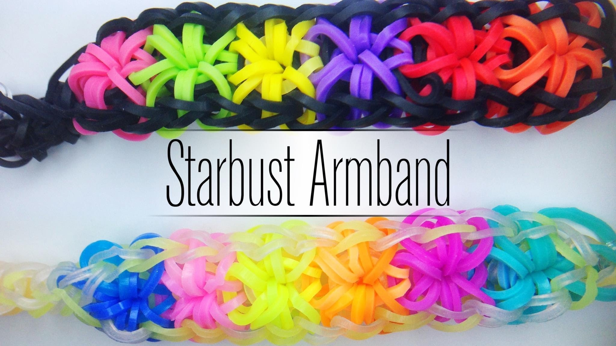 Rainbow Loom Starburst Armband | German Tutorial
