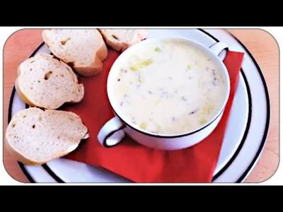 VideoAugust #6 - Kochen: Lauch-Käse-Hack-Suppe