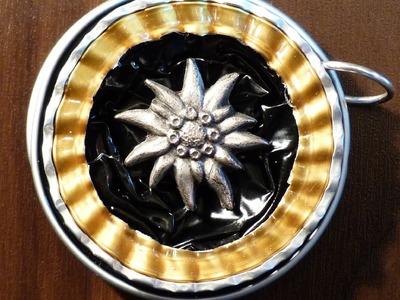 Nespresso Kapsel Schmuck DIY - Teil 2 - selbst gemachter Schmuck aus alten Nespressokapseln