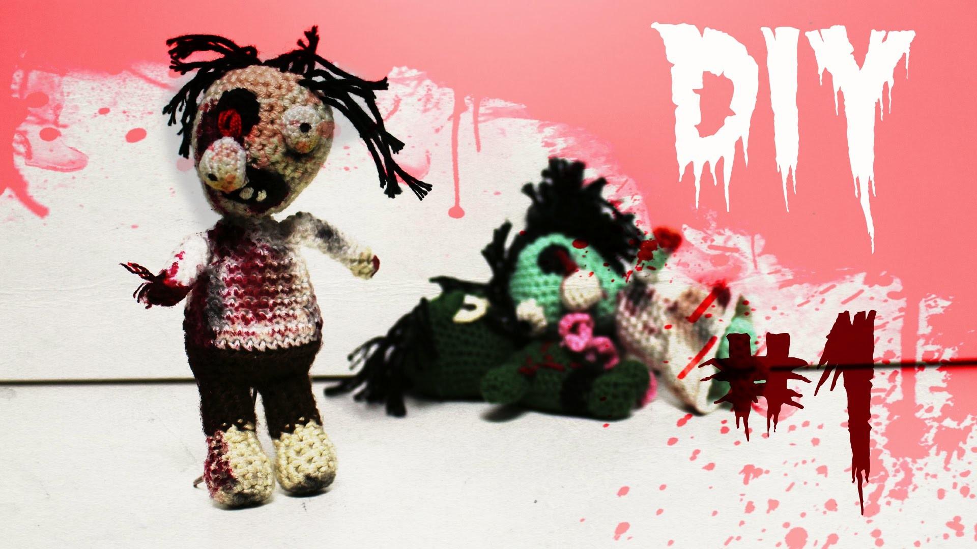 Zombie Häkel-Anleitung DIY *Halloween* Part 1