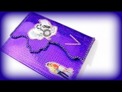 Disney Violetta 3 Tagebuch - Wie bastelt man ein Violetta Tagebuch - Basteln Anleitung deutsch #4
