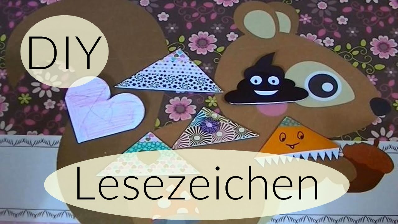 DIY Lesezeichen I Back to School I DIY Bookmarks I Deutsch - Finola 2015