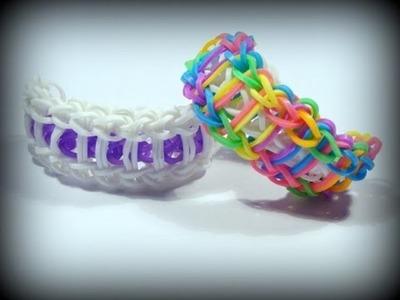 Loom Bands mit Rainbow Loom deutsch - Leiter Armband. Ladder Bracelet (deutsche Anleitung)