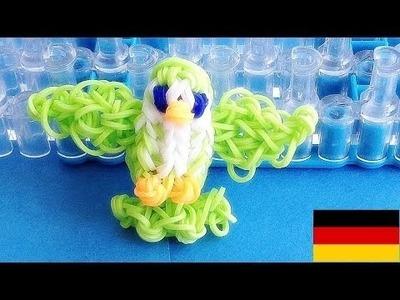 Loom Bandz Anleitung Deutsch Vogel (Rainbow Loom Deutsch Loom bands Tiere)