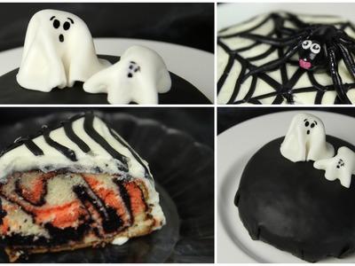 Super einfache HALLOWEEN CAKES! ❤ | #spooktober