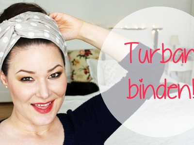 Turban binden - so funktioniert's!