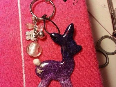 Bambi Schlüsselanhänger selber machen