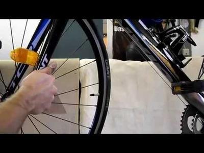 DIY Am Fahrrad - Vorderrad ausbauen und einbauen mit Bremsbacken