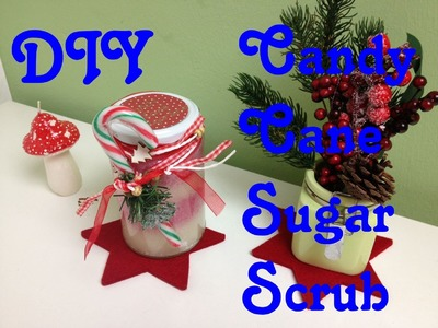 DIY Candy Cane Body Scrub | Fancy Friday