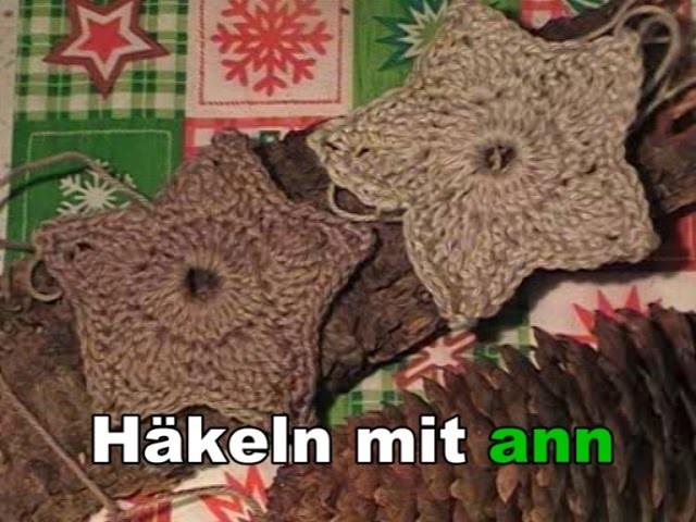 Einen schönen Stern häkeln Tutorial  ( German Version)
