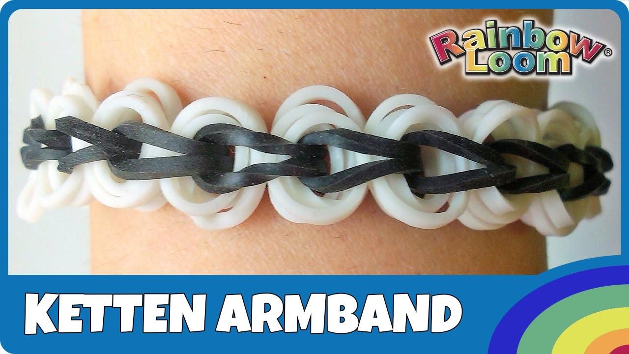 FingerLoom Ketten-Armband - deutsche Anleitung