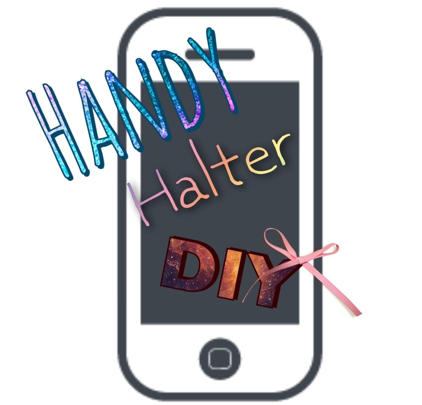 Handy. Tablet Halter basteln Tutorial Deutsch | louli Boehm