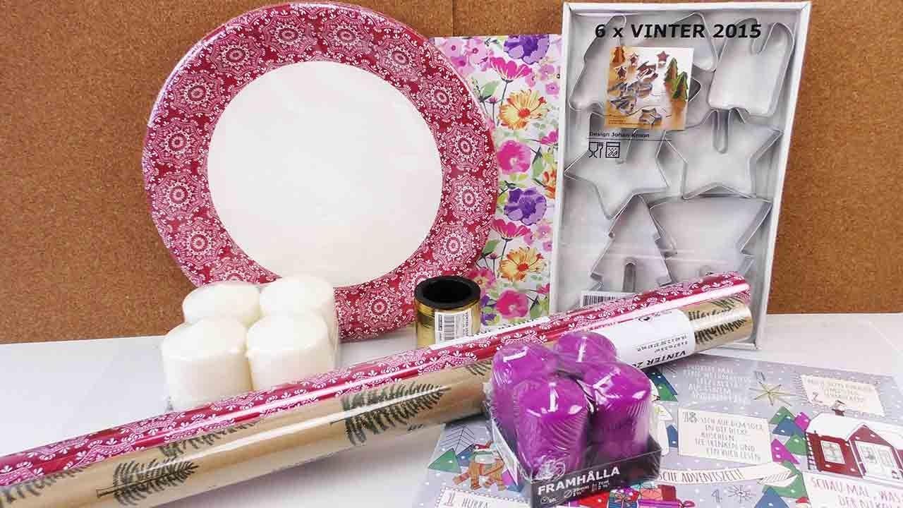 IKEA HAUL | Weihnachtshaul bei IKEA | Adventskalender, Kerzen, Geschenkpapier & Kekse | Shopping