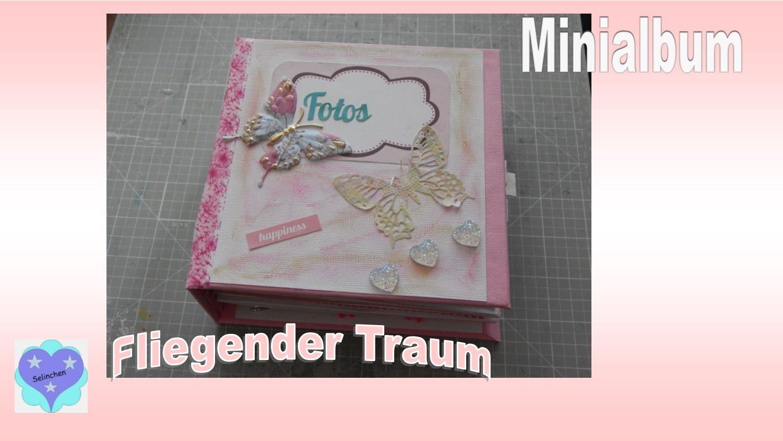 """Minialbum - """"Fliegender Traum"""" - Scrapbook"""