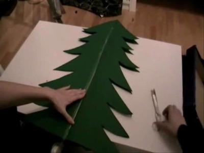 Mit buecher.de einen Weihnachtsbaum basteln!