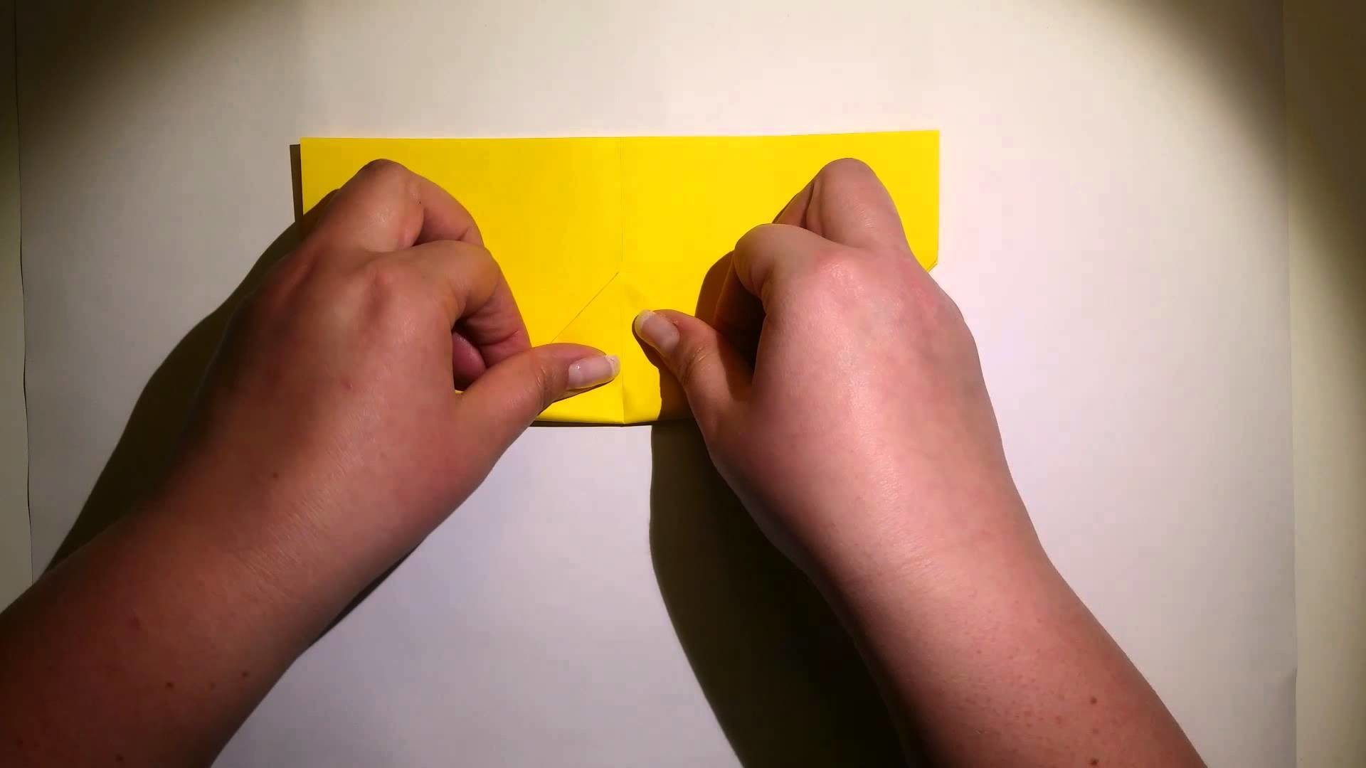 Origami Bilderrahmen Anleitung (Mittel)
