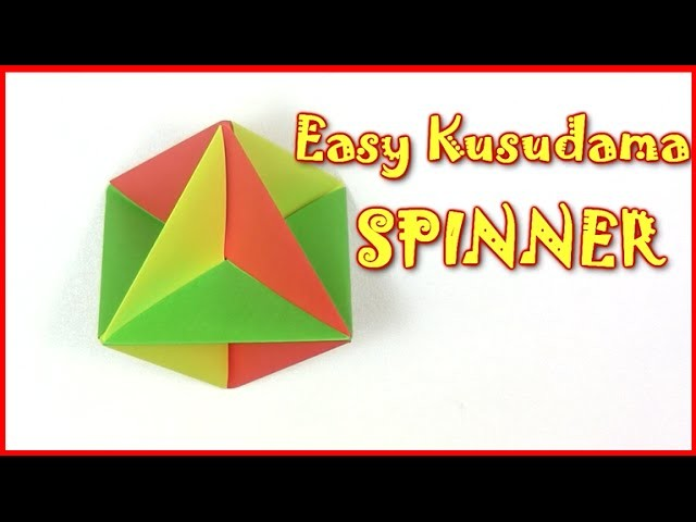 Origami easy Christmas balls ( toy ) - Yakomoga Origami tutorial