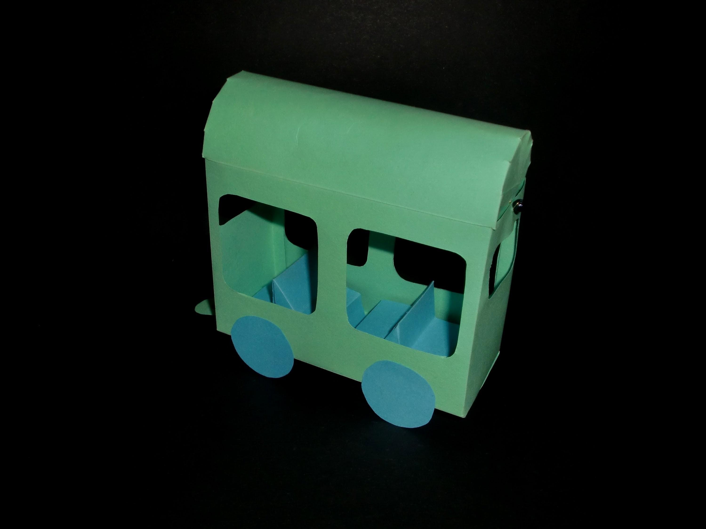 Papierzugwagon: Wagon Paper-ART - Tutorial [HD.deutsch]