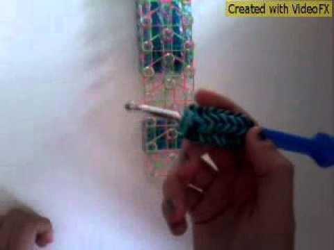 Rainbow Loom Dreifach Armband (mit Verlängerung)