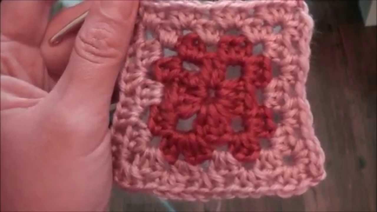 Ihr 84. Quadrat für ihre Patchwork Decke Häkeln! Das Granny-Muster!