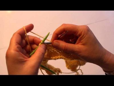 Neko's Zopfstricknadel zum  Zopfmuster stricken