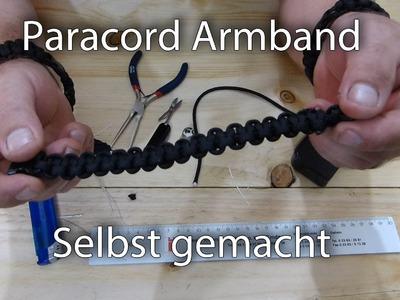 Paracord Armband selbst gemacht Teil1